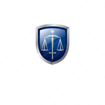正義と公正と信頼のロゴ