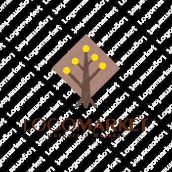 選択と進路と木のロゴ