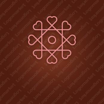 繋がりと愛と信頼のロゴ