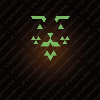 威厳と上質とコミカルのロゴ