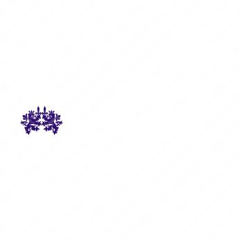 正義と威厳とライオンのロゴ