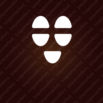 集まると笑顔とコーヒーのロゴ