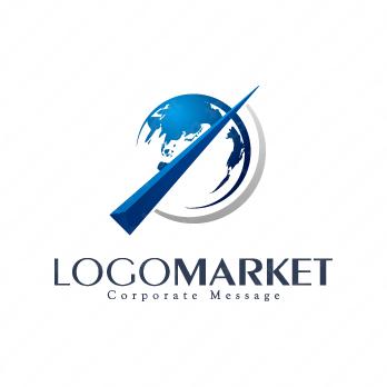 挑戦と成長とグローバルのロゴ