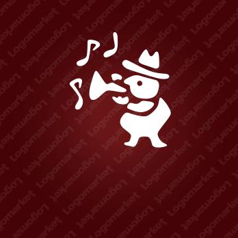 音楽とジャズとBARのロゴ