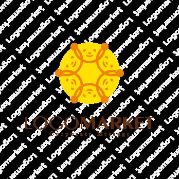 輪と繋ぐと信頼関係のロゴ