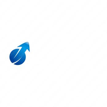 成長と上昇とジャンプのロゴ