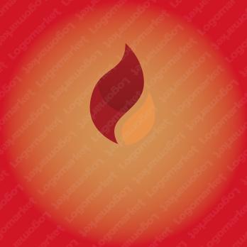 製造と炎とエネルギーのロゴ