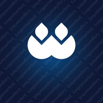 炎と協力とWのロゴ