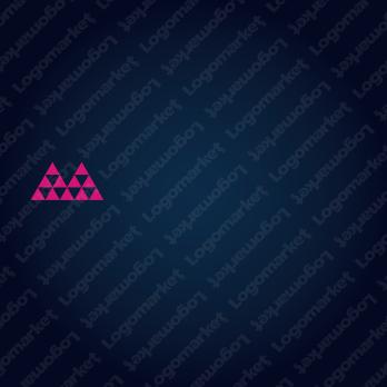 積み立てると成長とMのロゴ
