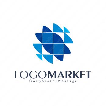 未来と先進的とテクノロジーのロゴ