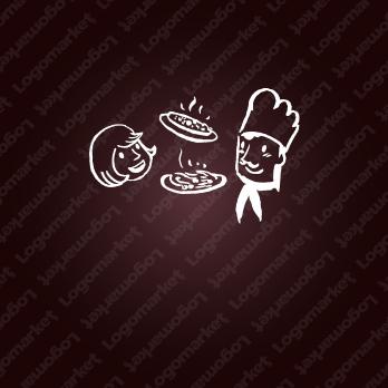楽しいと料理と彩りのロゴ