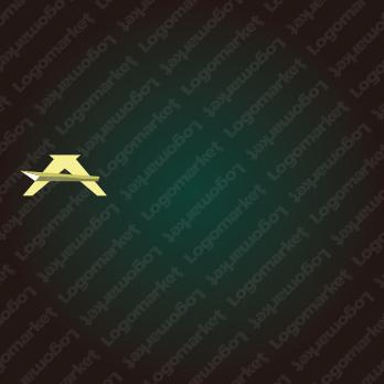 鋭さと剣とAのロゴ