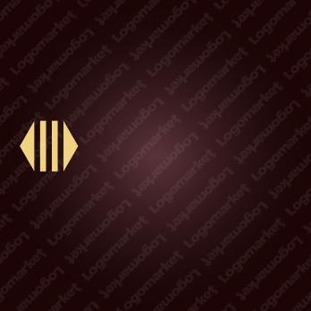 重厚感と柱と信頼のロゴ