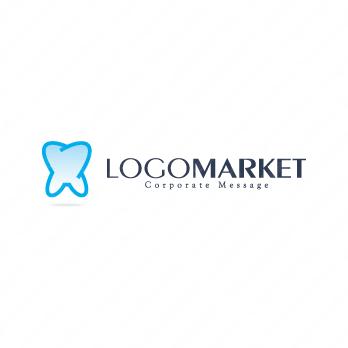歯とシンプルとKのロゴ