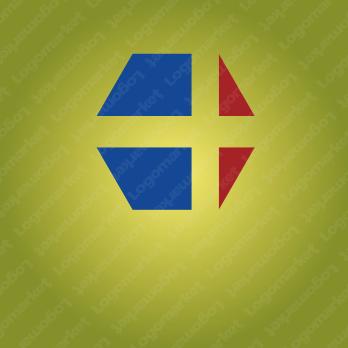 創造と前進と+アルファのロゴ