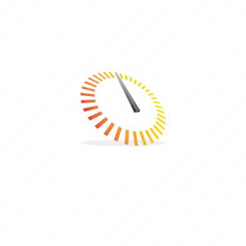 自動車と時間とOのロゴ