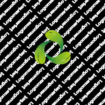 葉と循環と再生のロゴ