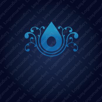 浄化と水と恵みのロゴ