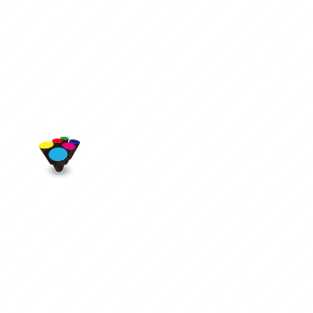 デジタルとカラーとインパクトのロゴ