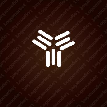 組織と成長と協力のロゴ