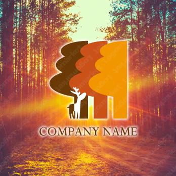 樹と優しさとファンタジーのロゴ