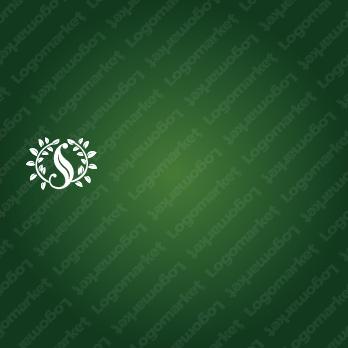 葉とナチュラルとSのロゴ