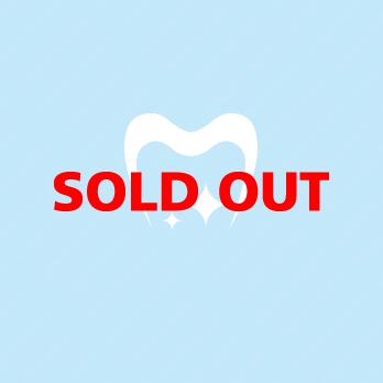 輝くと洗練と歯のロゴ