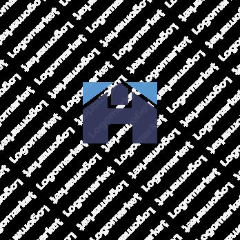 家と信頼とHのロゴ