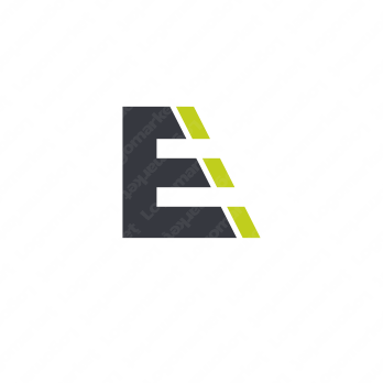 階段と上昇とEのロゴ