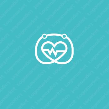 安心感と優しさとハートのロゴ