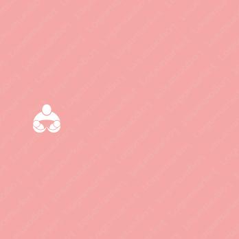 赤ちゃんと母親と愛情のロゴ