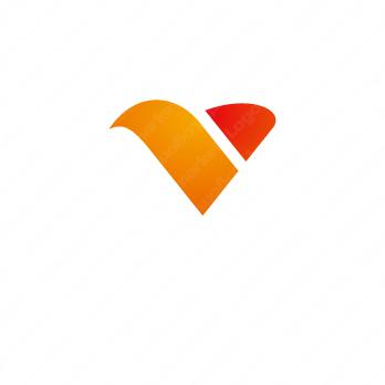 太陽光と創造的とVのロゴ