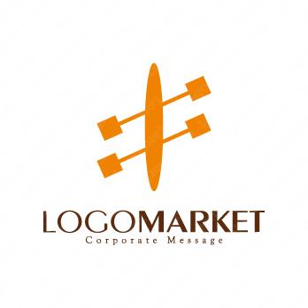 推進力と協力とパートナーのロゴ