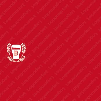プレミアムとトロフィーとお酒のロゴ