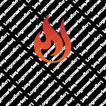 魂と炎と情熱のロゴ