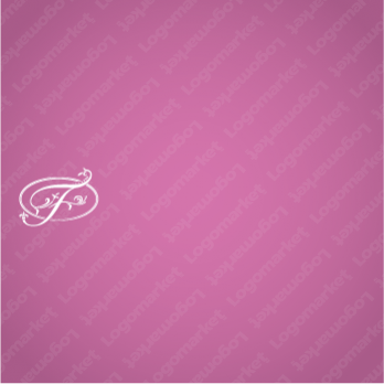 高級感とエレガントとFのロゴ