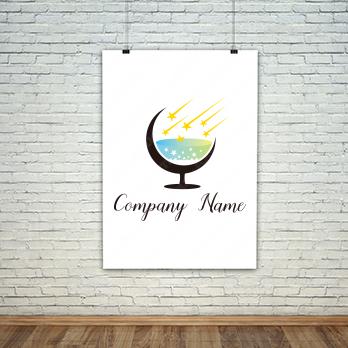酒と海と星のロゴ