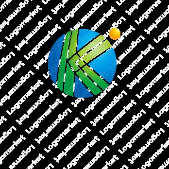 地球と先進性とKのロゴ