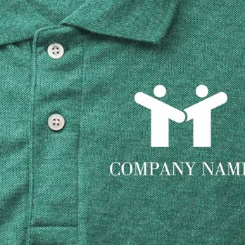 繋がりと信頼とサポートのロゴ
