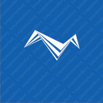 シンプルとシャープとMのロゴ