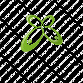 連携と四葉のクローバーとアクティブのロゴ