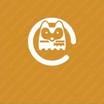 動物とやさしさとかわいいのロゴ