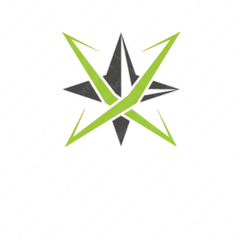 輝きと成功とXのロゴ