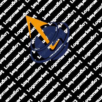 革新的と向上心とステップアップのロゴ