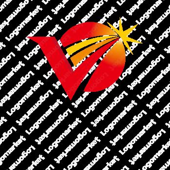 Vと成功者と栄光のロゴ