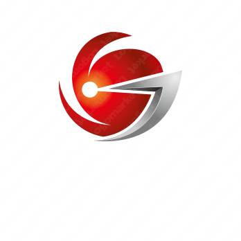 Gと金属と重厚感のロゴ