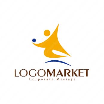躍動と積極的と挑戦のロゴ