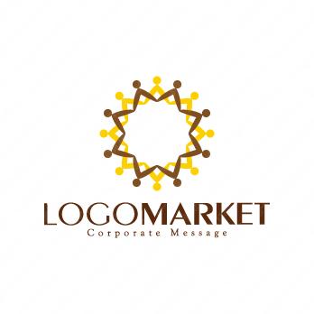 組織と信頼と人材のロゴ