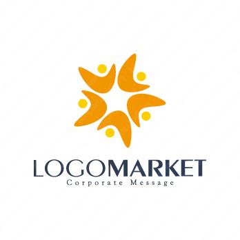 絆と組織と仲間のロゴ