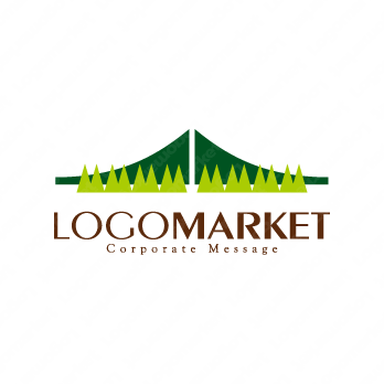 自然環境と架け橋とBのロゴ